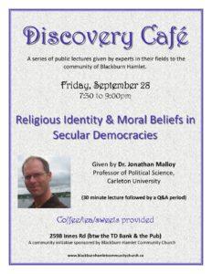 Discovery Cafe @ Blackburn Hamlet Community Church   Ottawa   Ontario   Canada